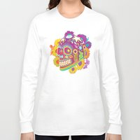 calavera Long Sleeve T-shirts featuring Calavera by KoolaidGirl