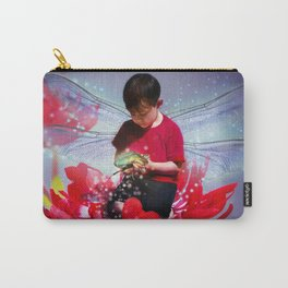 Red Bug Fairy Carry-All Pouch