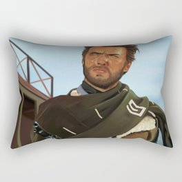 For a fistful of dollars Rectangular Pillow