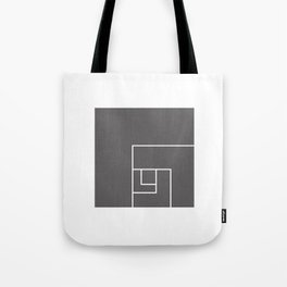 golden ratio cube Tote Bag