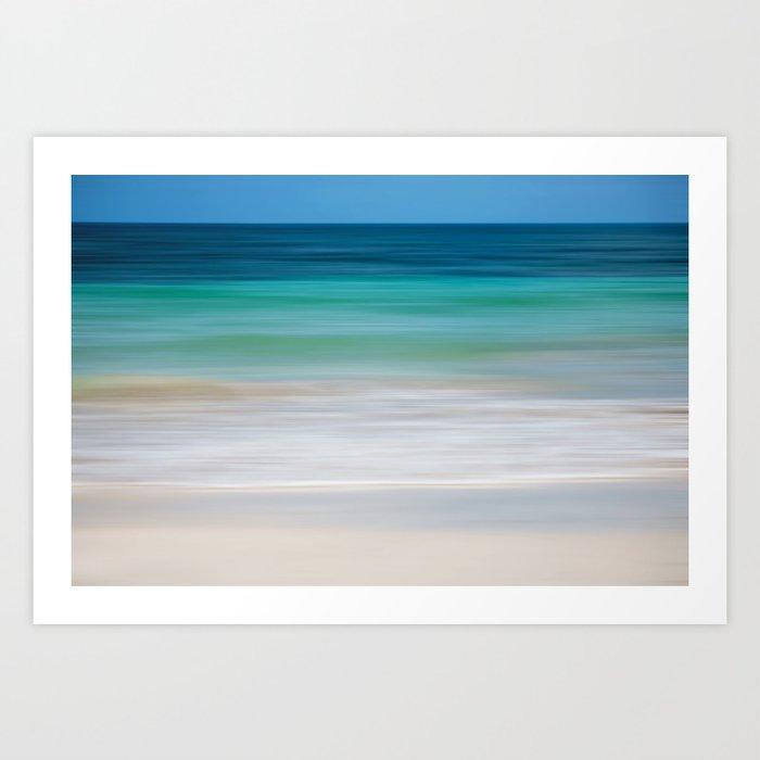 SEA ESCAPE Art Print