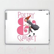 Poerty & Clarinet Laptop & iPad Skin