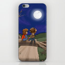 Under the Moon iPhone Skin