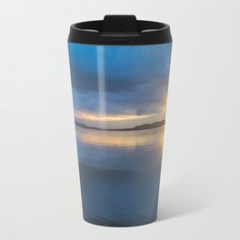 Winter Sunset at the Hollering Place Travel Mug