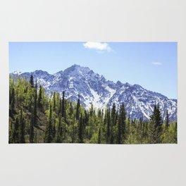 Alaskan Spring Mountains Rug