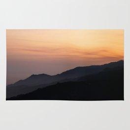 Hillside Sunset Rug