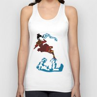 airbender Tank Tops featuring Azula by JHTY