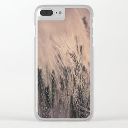 Barley-Pink Clear iPhone Case