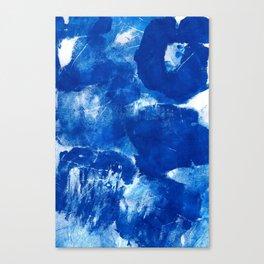 Bold Cerulean Canvas Print