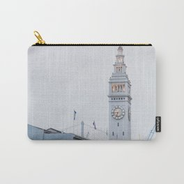 At the Ferry Building in San Francisco Carry-All Pouch