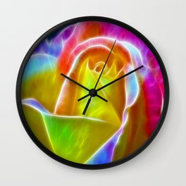 ▲►elegance is a glowing inner peace◄▲ Wall Clock