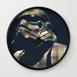 Star War | Storm Trooper Color Square * Movies Inspiration Wall Clock