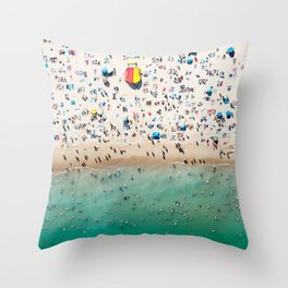 Bondi Life Throw Pillow