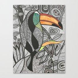 Tucano Brasil Canvas Print