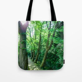 Forest Path #photography #lightroom #nature #buyart Tote Bag