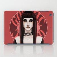 gothic iPad Cases featuring Gothic by DarkElve