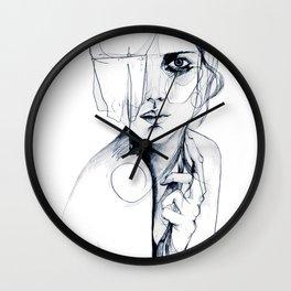 Sketch V Wall Clock