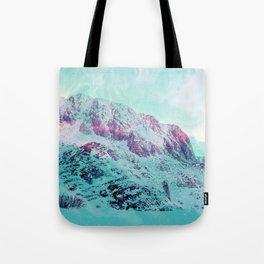 Pastel Magic Mountains Tote Bag
