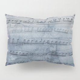Almost Gray Mood Music Pillow Sham