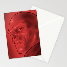 The Red Skull Stationery Cards
