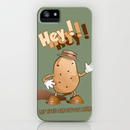 Spud iPhone Case