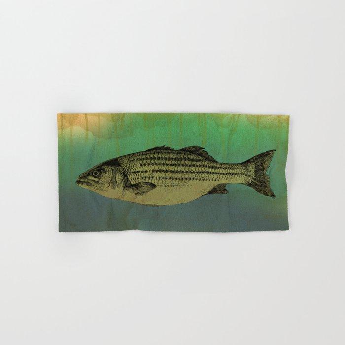 A Fish Hand & Bath Towel