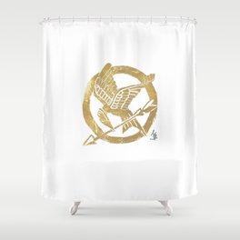 Mocking Jay Shower Curtain