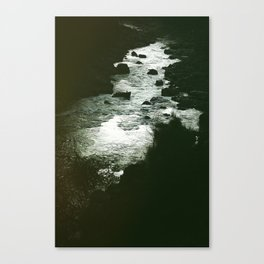 I'm still here at the water's edge. Canvas Print
