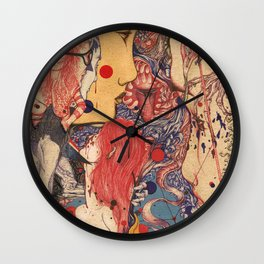 Release color Wall Clock