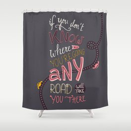 Any Road Shower Curtain