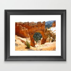 Bryce Canyon - Natural Arch Framed Art Print