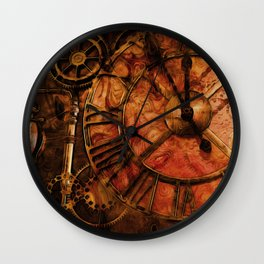 The Timepiece - Steampunk Clock Wall Clock