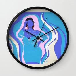 always candid always posing Wall Clock