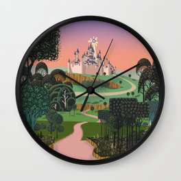 Dream for a Castle Wall Clock