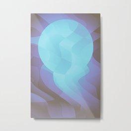 Cold Moon Metal Print