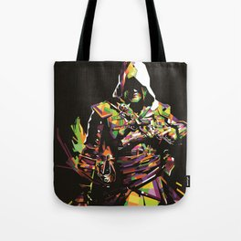 Assassin's Creed In Anomali WPAP Tote Bag