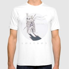 Lostboy White Mens Fitted Tee MEDIUM