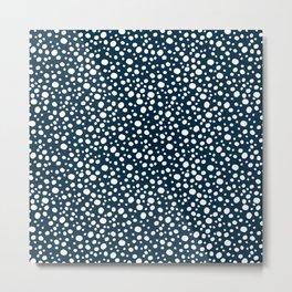 Deep Summer - Blue Bubbles Metal Print