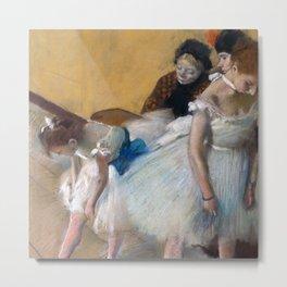 "Edgar Degas ""Examen de Danse (Dance Examination)"" Metal Print"