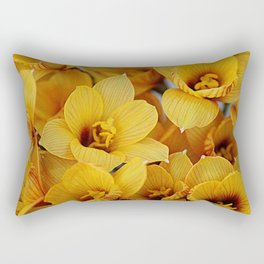 Copper Lily Rectangular Pillow