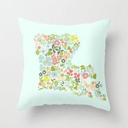 Louisiana Florals Throw Pillow