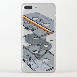 The Cassette Clear iPhone Case
