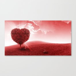 Feel the Love Canvas Print