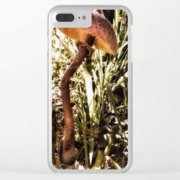 Mushroom Dream Clear iPhone Case