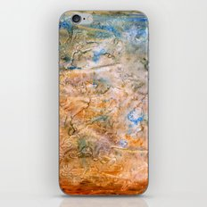 grungy texture iPhone & iPod Skin