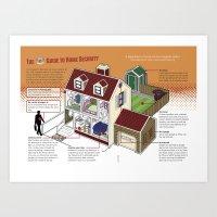 Home Security Art Print