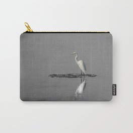 """Mirrored Egret"" by Murray Bolesta Carry-All Pouch"