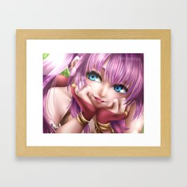 Carley Framed Art Print