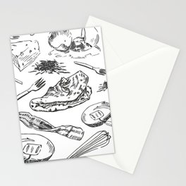 Oh My Omelets Stationery Cards
