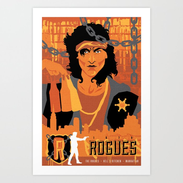 THE WARRIORS :: THE ROGUES Art Print
